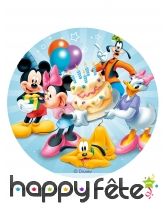 Disque Mickey Mouse azyme de 20cm