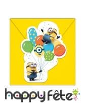 Déco Minions party pour table d'anniversaire, image 6