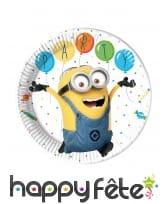 Déco Minions party pour table d'anniversaire, image 13