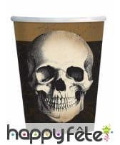 Déco motif tête de mort pour table de Halloween, image 1
