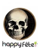 Déco motif tête de mort pour table de Halloween, image 4
