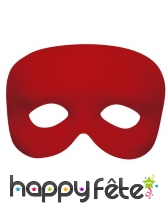 Demi-masque uni avec élastique, image 2