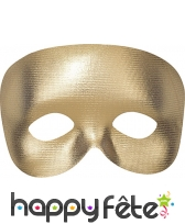 Demi-masque uni avec élastique, image 4