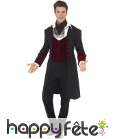 Déguisement manteau vampire gothique, image 1