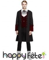 Déguisement manteau vampire gothique, image 3