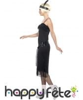 Déguisement noir années 20 femme sexy, image 2