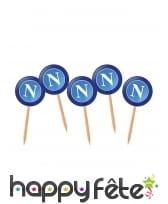 Décoration napoli bleues de table, image 2