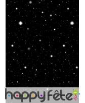 Décoration nuit étoilée en rouleau