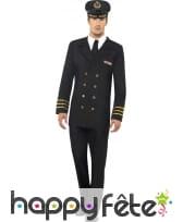 Déguisement officier de marine homme