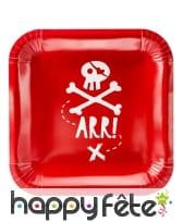 Décoration pirate carte au trésor, image 1
