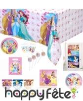 Déco Princesses Disney Dreaming pour anniversaire