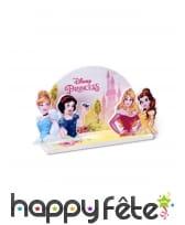 Déco Princesses Disney pour gâteau, 15 x 8,5 cm