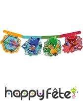 Décorations Pjmasks de table d'anniversaire, image 6