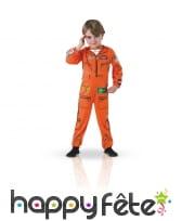 Déguisement planes d'aviateur pour enfant