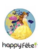 Disque Princesses Disney en azyme de 21cm, image 2