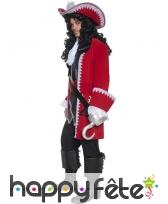 Costume de Pirate rouge, image 1