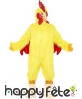 Déguisement poulet jaune