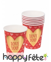 Décorations pour la St Valentin ornées de coeur, image 6
