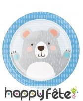 Décoration Petit ours pour table d'anniversaire, image 1