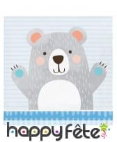 Décoration Petit ours pour table d'anniversaire, image 3