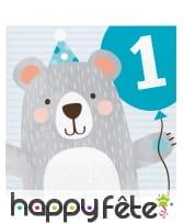 Décoration Petit ours pour table d'anniversaire, image 4