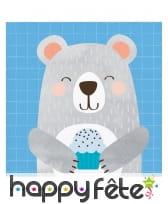 Décoration Petit ours pour table d'anniversaire, image 5