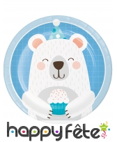 Décoration Petit ours pour table d'anniversaire, image 8