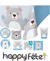 Décoration Petit ours pour table d'anniversaire