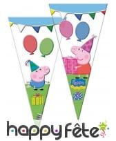 Déco Peppa Pig pour table d'anniversaire, image 26