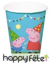 Déco Peppa Pig pour table d'anniversaire, image 2