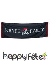 Décorations pirate pour fête d'anniversaire, image 3