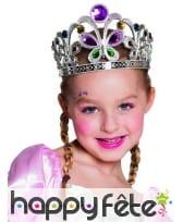 Diadème princesse papillon pour enfant