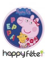 Disque Peppa Pig en sucre de 20cm