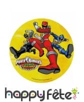 Disque Power Rangers de 21cm en azyme, image 3