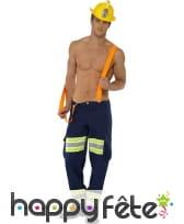 Déguisement pompier sexy homme, image 2