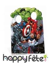 Double passe tête Avengers pour enfant