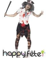 Déguisement policière zombie