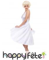 Déguisement robe blanche de Marilyn Monroe, image 2
