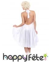 Déguisement robe blanche de Marilyn Monroe, image 3