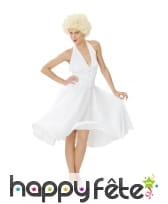 Déguisement robe blanche de Marilyn Monroe