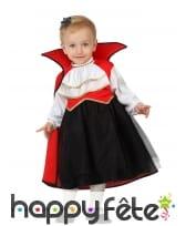 Déguisement robe de bébé vampire