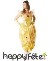 Déguisement robe de Belle pour femme