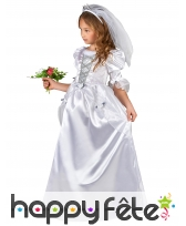 Deguisement Robe De Mariee Pour Petite Fille