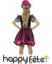 Déguisement robe de piratesse girly pour enfant, image 1