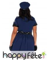 Déguisement robe de policière grande taille, image 1