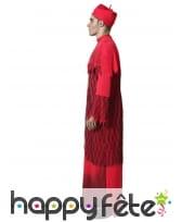 Déguisement rouge de prêtre fantôme pour adulte, image 1