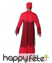 Déguisement rouge de prêtre fantôme pour adulte, image 2