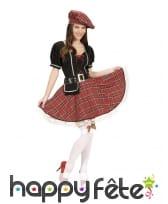 Déguisement robe écossaise pour femme