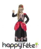 Déguisement robe jour des morts pour enfant