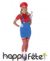 Déguisement robe Mario
